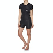 Billabong Synergy 1mm Front Zip Shorty Womens Wetsuit