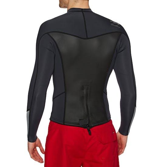 Combinaison de Surf Billabong Absolute 2mm 2018 Back Zip Long Sleeve Top