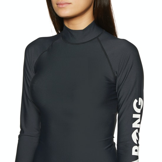 Billabong Logo Long Sleeve Ladies Rash Vest