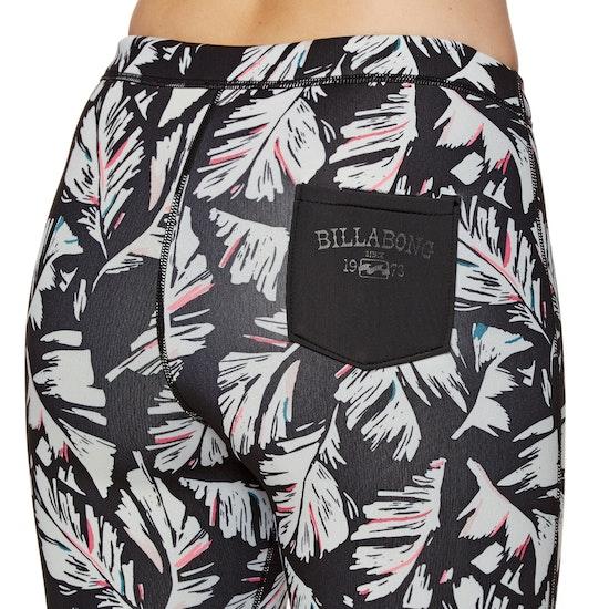 Billabong 1mm Surf Capsule Skinny Leggings Full-Length Damen Wetsuit Shorts