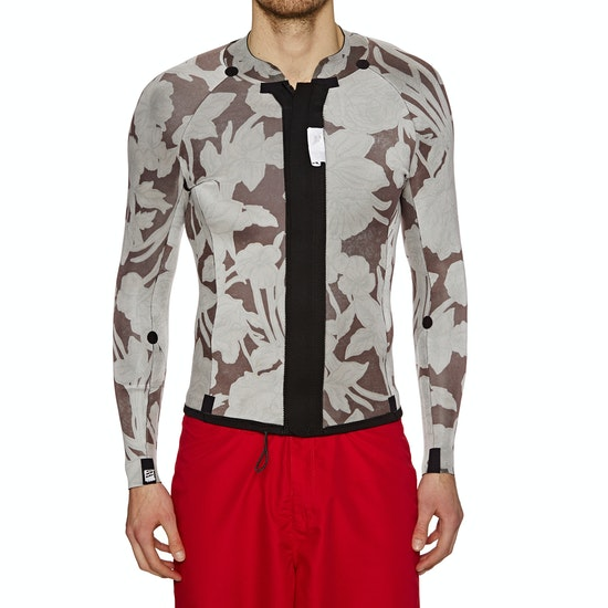 Billabong Revolution Pumpr 2mm 2018 Front Zip Long Sleeve Top Wetsuit