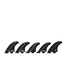FCS II Firewire Performance Core Set Of Five Fin - Carbon