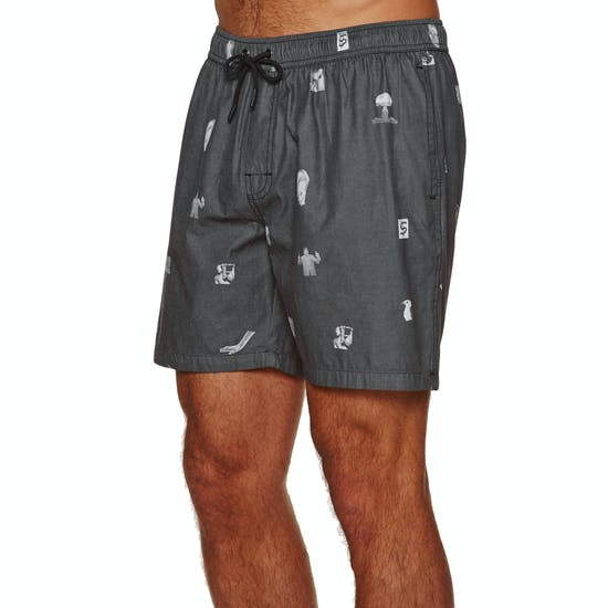 No News Print Boardshorts