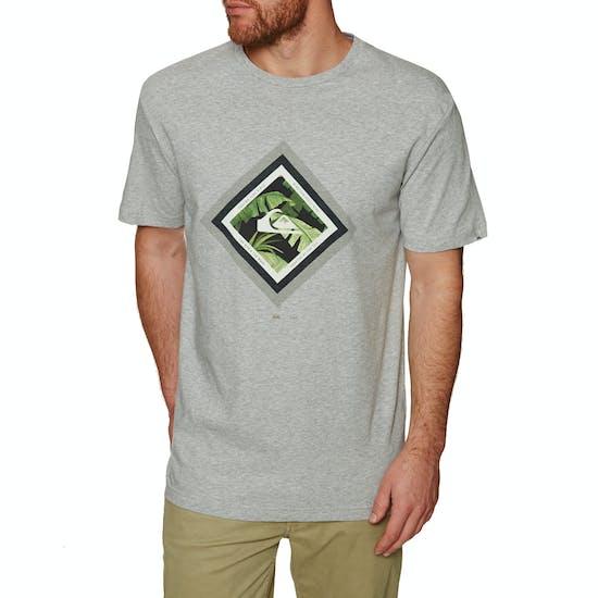 Quiksilver Classic Crimson Skyline Mens Short Sleeve T-Shirt