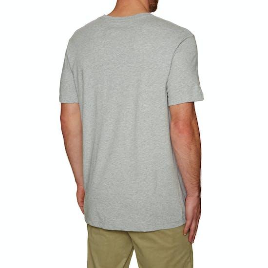 Quiksilver Classic Crimson Skyline Short Sleeve T-Shirt