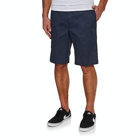 Dickies 11 Inch Slim Straight Work Spazier-Shorts - Navy Blue