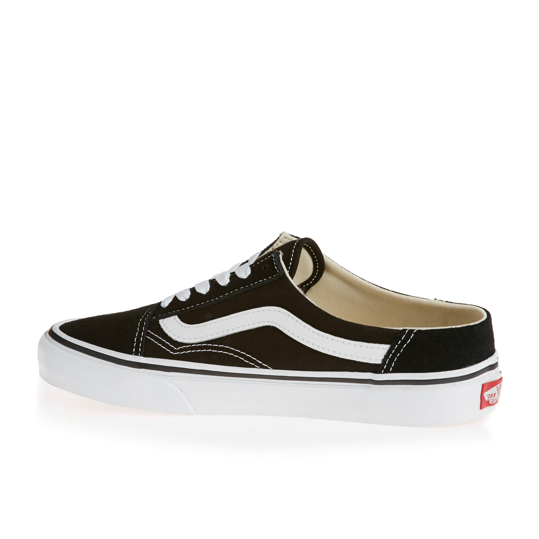 Vans Old Skool Mule Womens Slip On Shoes available from Surfdome