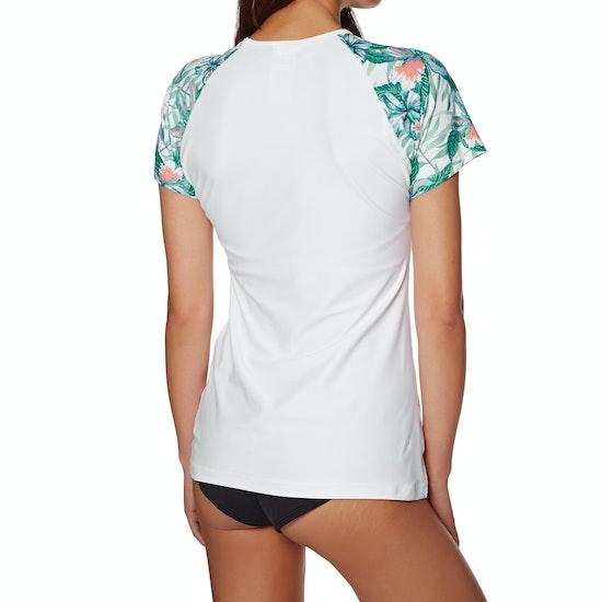 Rip Curl Tropic Tribe Relaxed Short Sleeve Womens Rash Vest