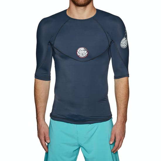 Rip Curl Bomb Short Sleeve Rash Vest