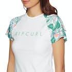 Rip Curl Tropic Tribe Relaxed Short Sleeve Ladies Rash Vest