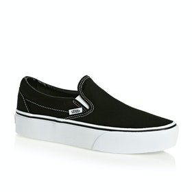 Vans Classic Platform Womens Slip On Shoes - Black