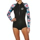 Fato Térmico Rip Curl G Bomb 1mm Long Sleeve Hi Cut Shorty
