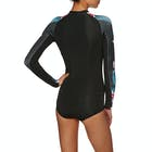 Rip Curl G Bomb 1mm Long Sleeve Hi Cut Shorty Wetsuit