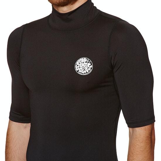 Rip Curl Corpo Short Sleeve High Neck Rash Vest