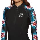 Rip Curl G Bomb 1mm Front Zip Long Sleeve Top Wetsuit