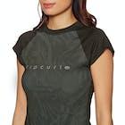 Rip Curl Tropic Glitch Cap Sleeve Ladies Rash Vest