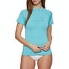 Surf T-Shirt Femme Rip Curl Sunny Rays Relaxed Short Sleeve - Light Blue