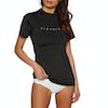 Surf T-Shirt Mujer Rip Curl Sunny Rays Relaxed Short Sleeve - Black