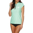 Rip Curl Belle Cap Sleeve Front Zip Ladies Rash Vest