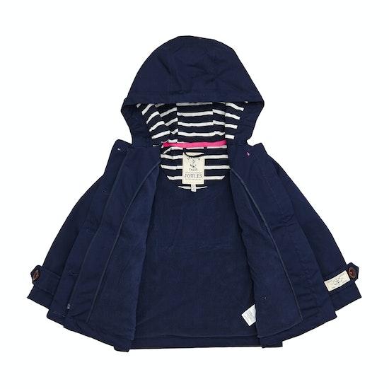 Joules Girls Coast Waterproof Kids Waterproof Jacket