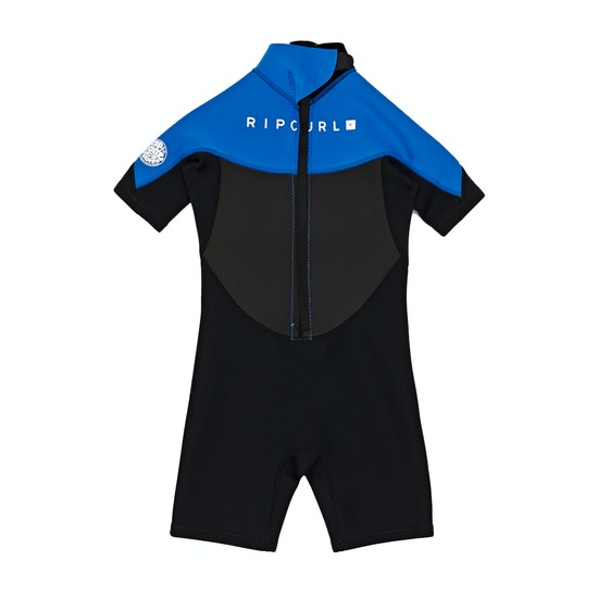 Rip Curl Omega 1.5mm Back Zip Shorty Kids Wetsuit