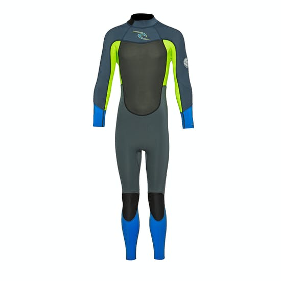 Rip Curl Dawn Patrol 3/2mm Back Zip Kids Wetsuit