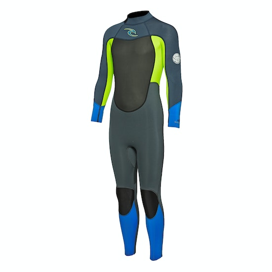 Rip Curl Dawn Patrol 3/2mm Back Zip Boys Wetsuit