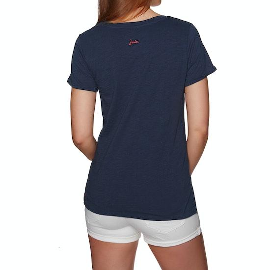 Joules Nessa Lightweight Jersey Womens Short Sleeve T-Shirt