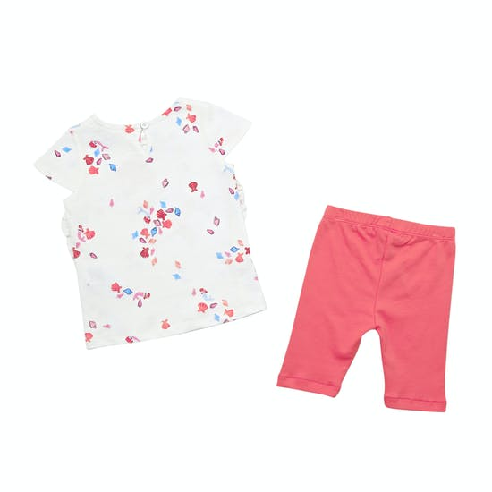 Joules Paula Pants And T-Shirt Korte Mouwen