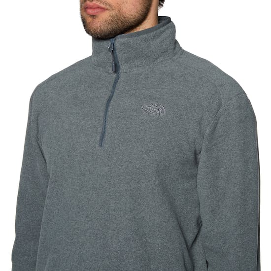 Pile North Face 100 Glacier Quarter Zip