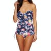 Joules Delphine Womens Swimsuit - Navy Whitstable Floral