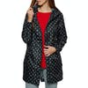 Joules Golightly Womens Jacket - Navy Spot