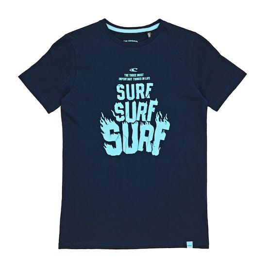 O'Neill Surf Surf Surf Jungen Kurzarm-T-Shirt