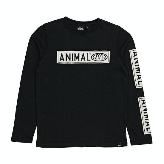T-Shirt de Manga Comprida Boys Animal Bayou