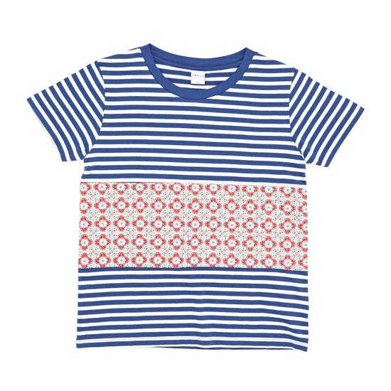 T-Shirt de Manga Curta Girls SWELL Pattern