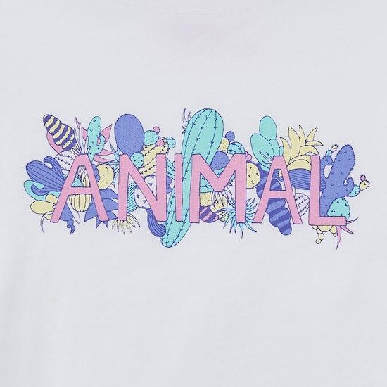 Animal Cactie Girls Short Sleeve T-Shirt