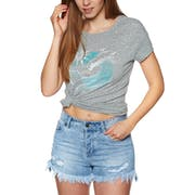 O'Neill Oneill Waves Ladies Short Sleeve T-Shirt