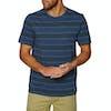T-Shirt a Manica Corta O'Neill Venice Stripe - 5900 Blue Aop