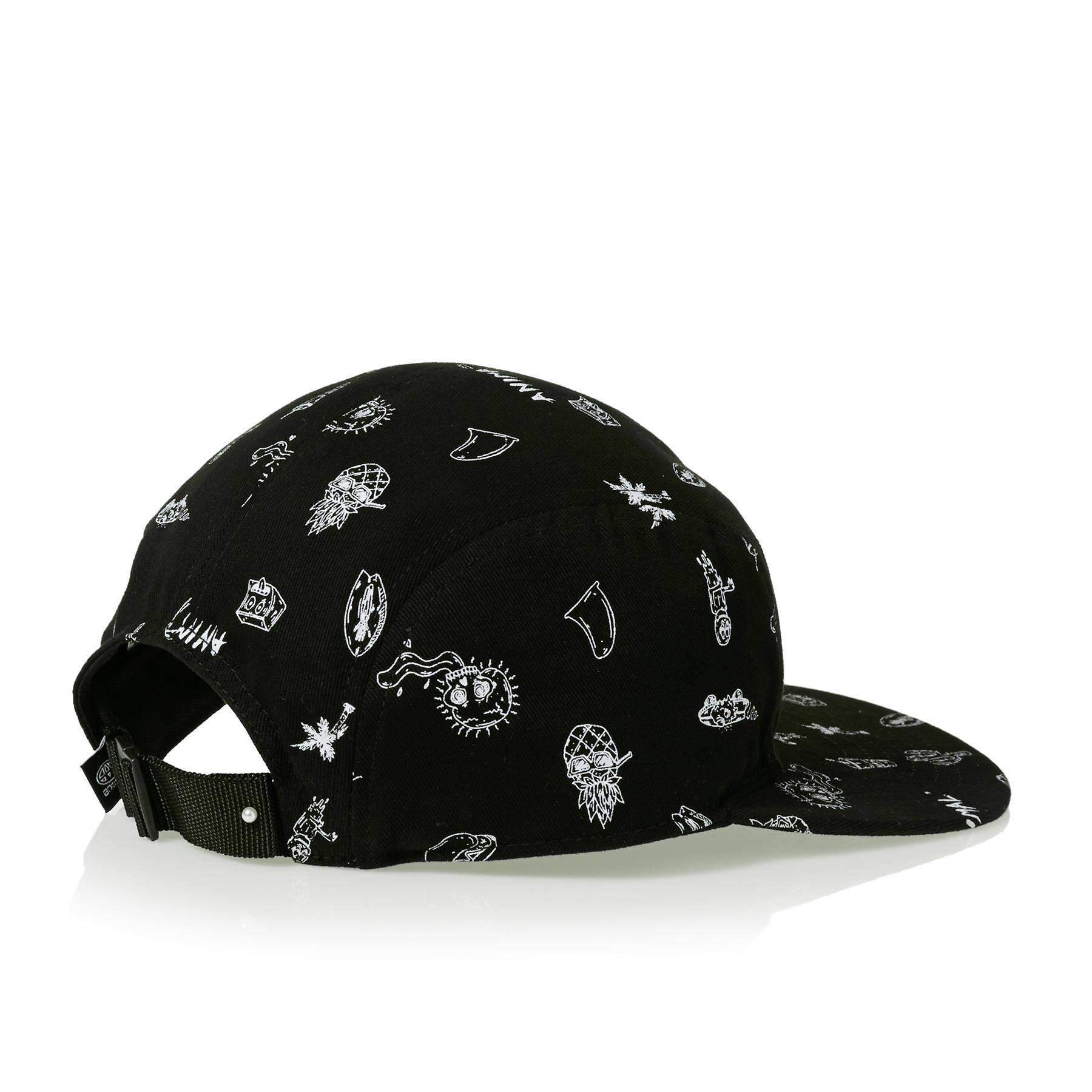 Black All Sizes Animal Taye Boys Headwear Cap