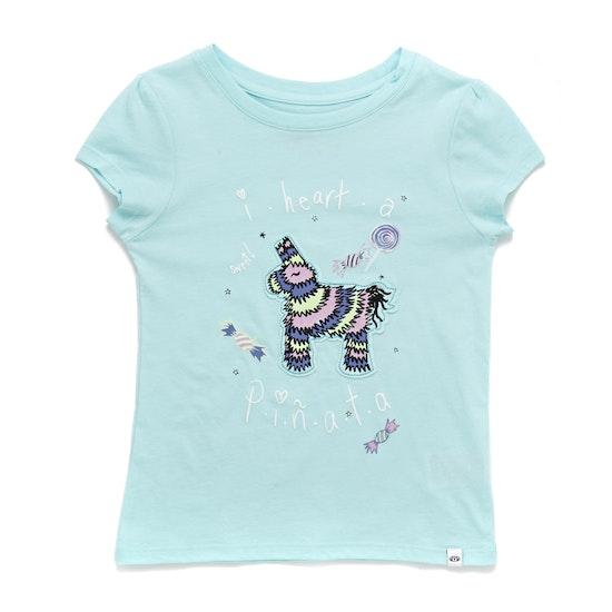 Animal Pinny Girls Short Sleeve T-Shirt