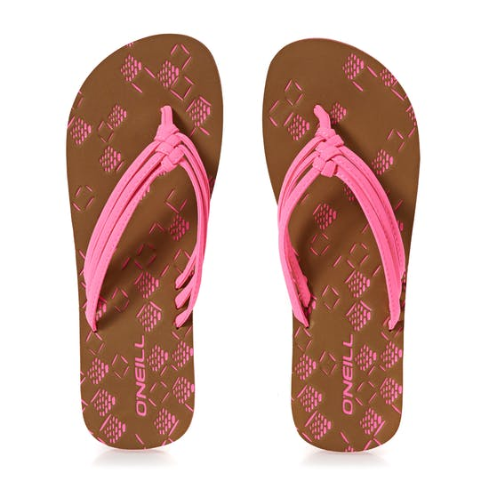 O'Neill 3 Strap Ditsy Ladies Sandals