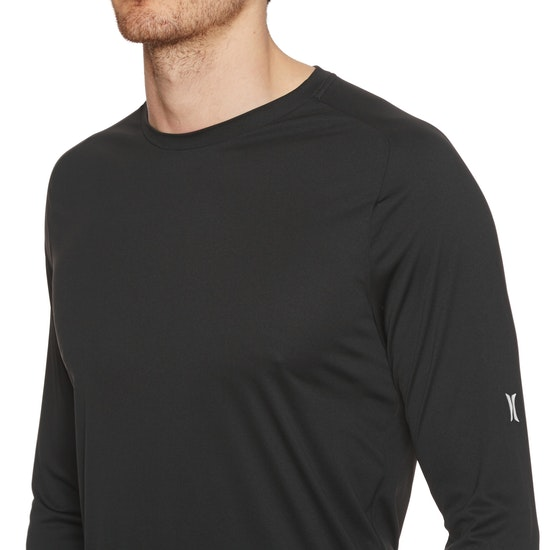 Hurley Icon Quick Dry Long Sleeve Surf T-Shirt