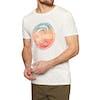 O'Neill Circle Surfer Kurzarm-T-Shirt - Powder White