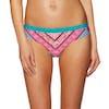 O Neill Pw Fancy Laguna Bikiniunterteil - 6940 Green Aop W/ Pink-purple