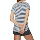 O'Neill Stripe Script Ladies Short Sleeve T-Shirt