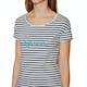 T-Shirt à Manche Courte Femme O'Neill Stripe Script
