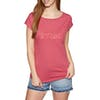 O'Neill Essentials Brand Womens Short Sleeve T-Shirt - 3063 Holly Berry
