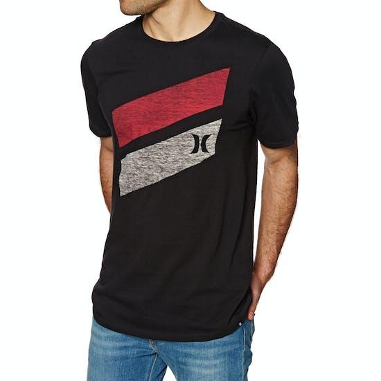Hurley Icon Slash Push Through Mens Short Sleeve T-Shirt