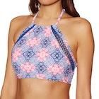 O'Neill Crochette Edge High Neck Bikini Top