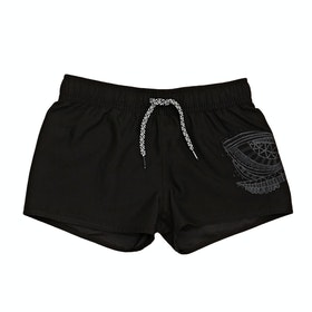 Protest Fouke 18 Jr Girls Boardshorts - True Black
